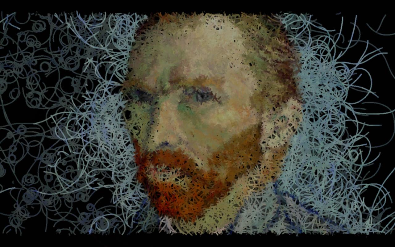 Vincent van Gogh. Interactive installation
